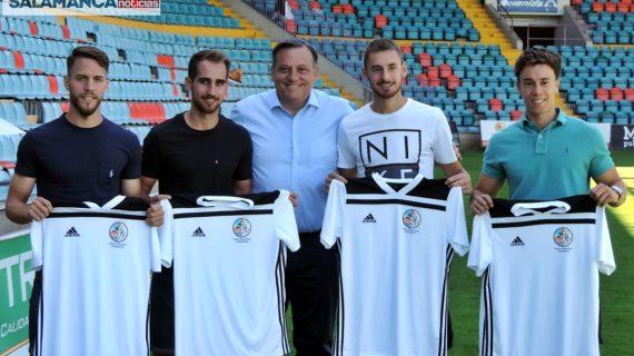 Júnior y Pablo González abandonan el Salamanca CF UDS