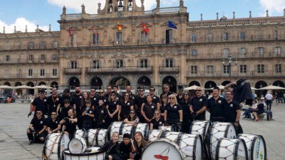 La presentación de 'Pan Caminhos-Caminos' trae a Salamanca su ambiente festivo