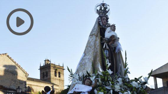 La Virgen del Carmen de Ledesma ya está en su ermita