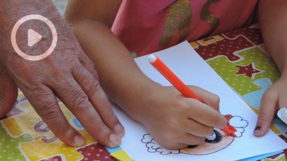Pequeños y mayores se lo pasan 'en grande' celebrando el 'Día de los abuelos'