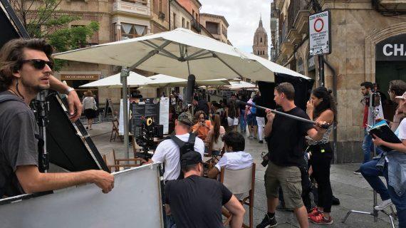 """Finaliza el rodaje de la tv movie alemana """"Un verano en Salamanca"""""""