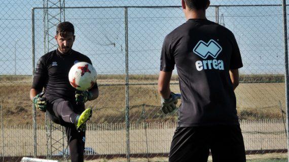 Molina se lesiona en el entrenamiento matutino de Unionistas de Salamanca