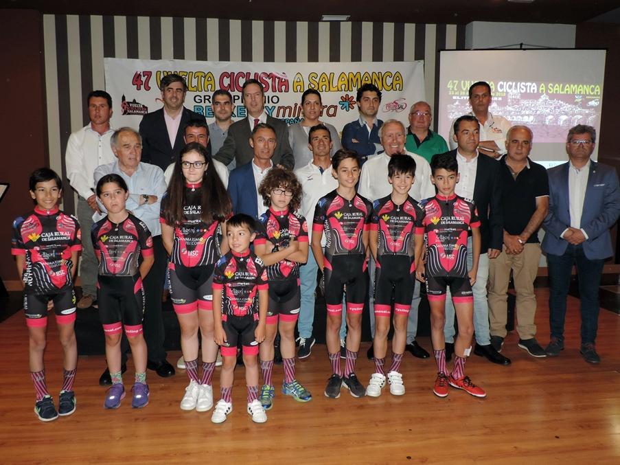 La Vuelta Ciclista a Salamanca regresa a lo grande con cuatro etapas de primer nivel