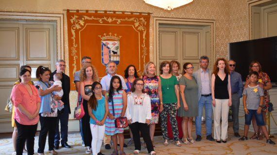 En el día Mundial del Síndrome de Turner, la Asociación visita el Ayuntamiento