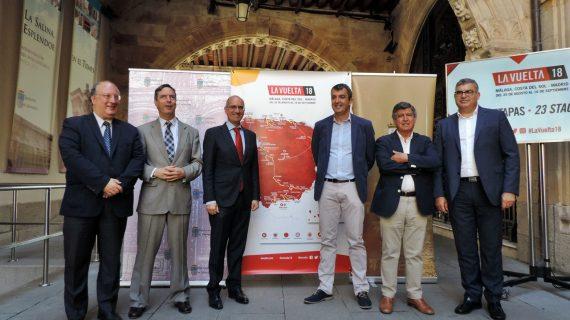 La Vuelta Ciclista a España regresa en todo su esplendor a Salamanca