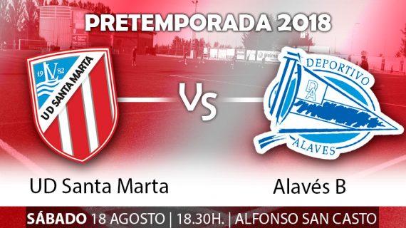 El Alavés B, rival del Santa Marta para su presentación oficial
