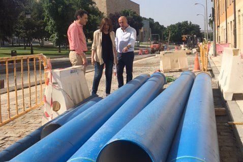 14 calles de Prosperidad y La Aldehuela renovarán sus redes de agua gracias al Ayuntamiento de Salamanca