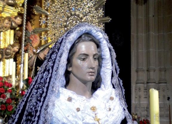 La Virgen de la Soledad procesionará de manera extraordinaria el próximo domingo