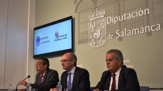 La Diputación y la Junta presentan el nuevo 'Crecemos', un programa para conciliar la vida familiar y laboral en el medio rural