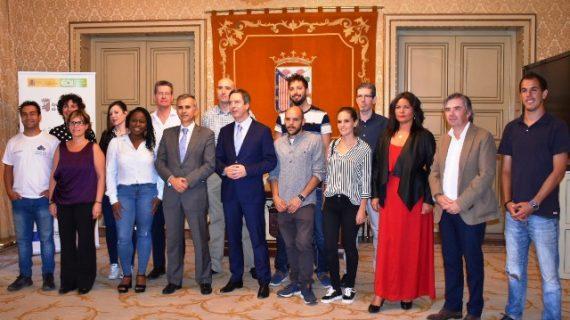 Los empresarios de la II Edición del Espacio Coworking del Ayuntamiento, reciben sus diplomas