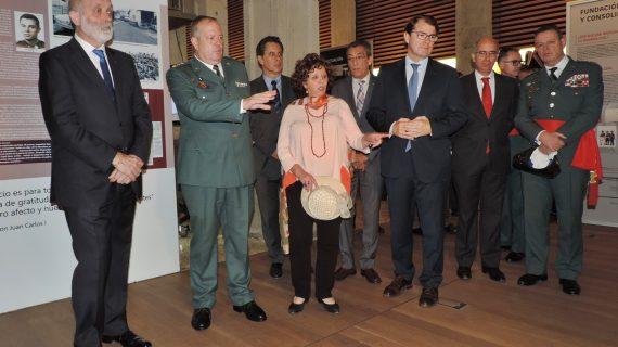 La historia de la Guardia Civil, expuesta en el Centro Documental de Memoria Histórica
