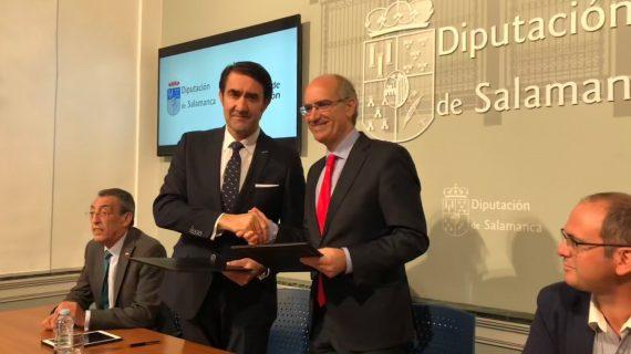 Junta y Diputación de Salamanca prestarán apoyo a los pequeños municipios para actualizar su planeamiento urbanístico