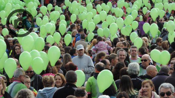 18.000 salmantinos caminan contra el cáncer