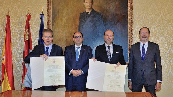 Carlos Ignacio Jaramillo y Jaime Alberto Arrubla, Huéspedes Distinguidos de Salamanca