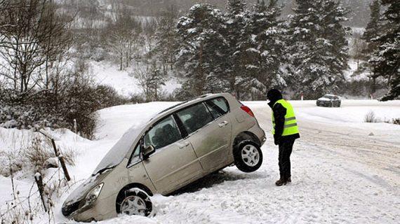 Preparar el coche para la ola de frío polar es vital para la seguridad de los conductores