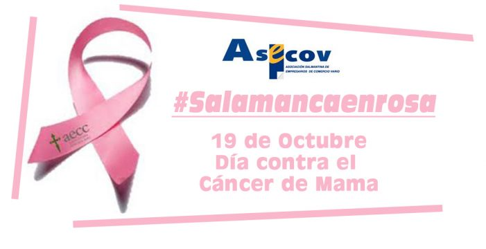 'Salamanca en rosa' es la nueva campaña de ASECOV contra el cáncer de mama