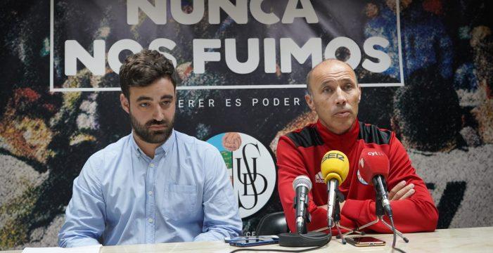 Antonio Calderón es presentado como nuevo entrenador del Salamanca CF UDS
