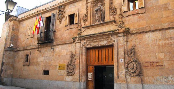 El Tribunal Supremo refuerza las demandas de la Asociación Salvar el Archivo de Salamanca