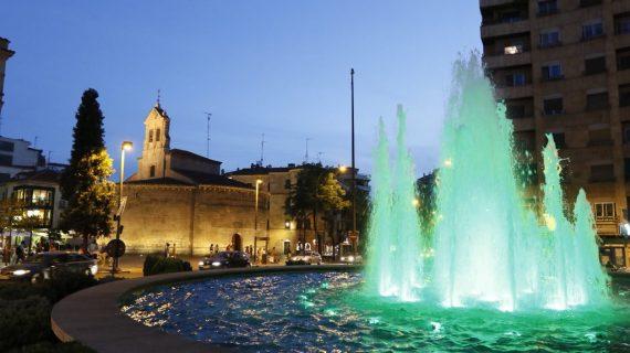 La fuente de la Puerta Zamora, solidaria una vez más