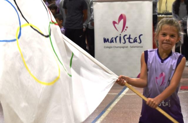 El Colegio Maristas Champagnat de Salamanca celebra su 'puesta de largo' deportiva