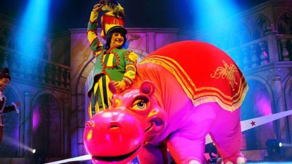 El CAEM, convertido en una gran pista de circo