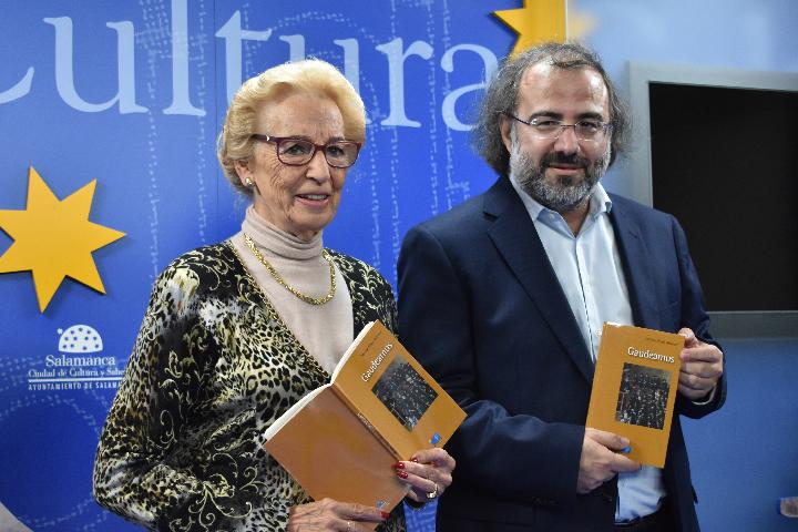 """La Fundación Salamanca Ciudad de Cultura y Saberes edita """"Gaudeamus"""", un libro de poemas en torno a la Universidad de Salamanca"""