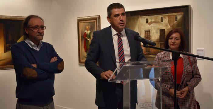 La Salina acoge la exposición 'Pinturas leídas' del artista peñarandino Alejandro Mesonero