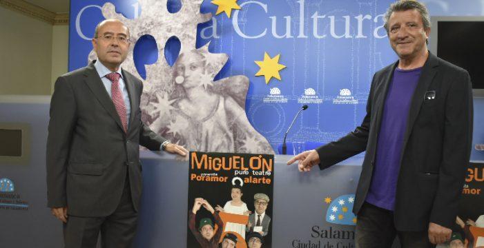 El actor salmantino Miguel Martín 'Miguelón' celebra sus 30 años de carrera en el Liceo