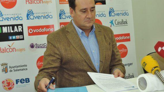 """Jorge Recio: """"Salamanca se merece ya la organización de la Copa de la Reina"""""""