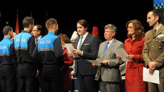 Béjar acoge la entrega de las Medallas al Mérito de la Policía Local y la Protección Ciudadana