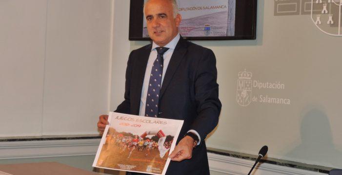 Los Juegos Escolares acercarán la práctica deportiva a los municipios salmantinos