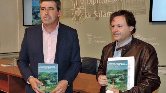 Los espacios naturales del sur de la provincia, a estudio en un libro de Antonio M. Martínez