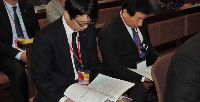 Comienza la Conferencia de rectores españoles y japoneses en la Universidad de Salamanca