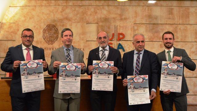 Presentada la III San Silvestre Universitaria 'We are ready ¡Corre por la Educación!'