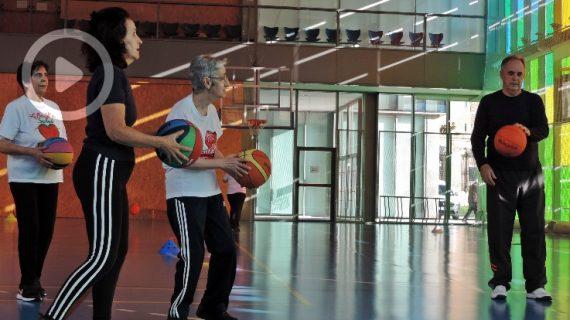 'Súpersenior': salud y deporte a través del básket
