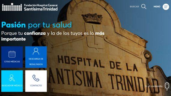 La Santísima Trinidad, estrena página web