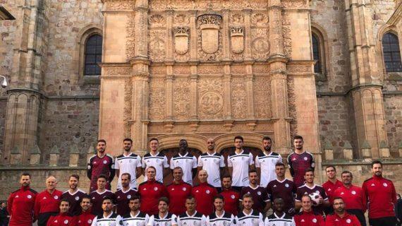 El Salamanca CF UDS también homenajea a la Universidad