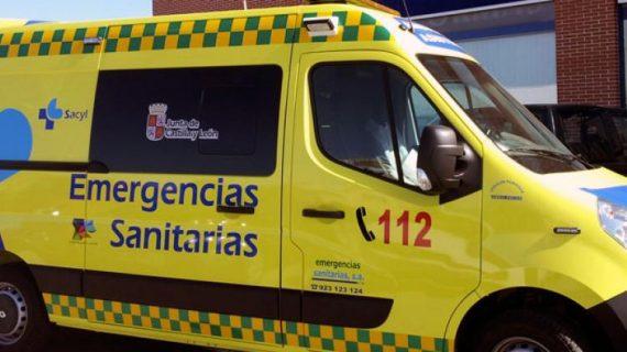 Rápida actuación del equipo de Emergencias 112 que atendió a un hombre intoxicado por la mala combustión de un brasero