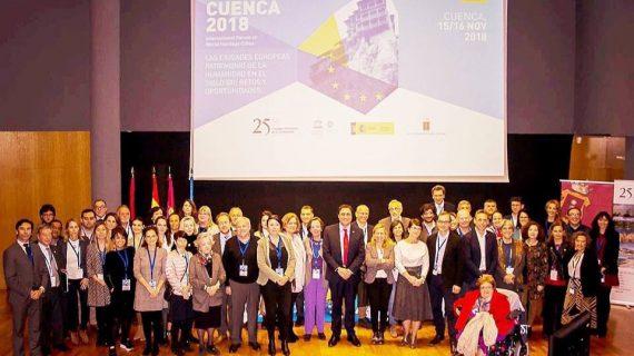 """Salamanca participa en el Foro Internacional Cuenca 2018 """"Ciudades Patrimonio Mundial de Europa en el siglo XXI"""""""