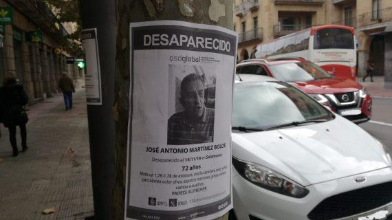 Continúa la búsqueda de José Antonio