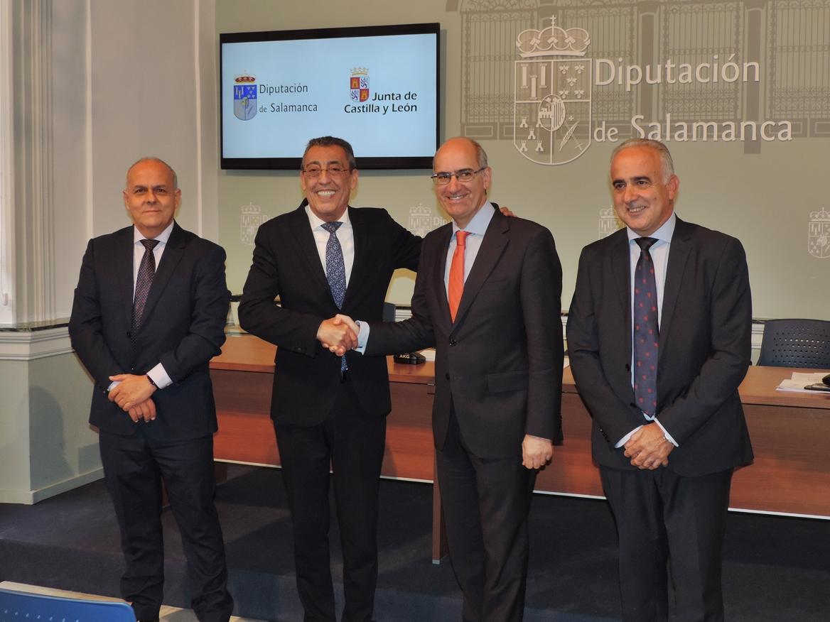 76 ayuntamientos se beneficiarán de las ayudas de Diputación y Junta para realizar obras de mejora en los colegios públicos