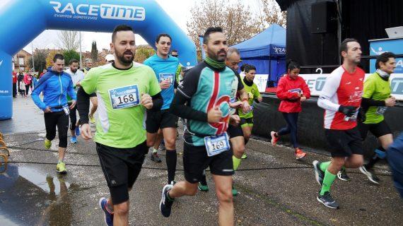 Carbajosa corre 'Kilómetros Solidarios' por la Cruz Roja de Salamanca
