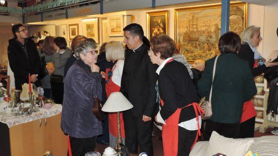 Inaugurado el rastrillo solidario de la Sociedad San Vicente de Paúl en su décimo cumpleaños