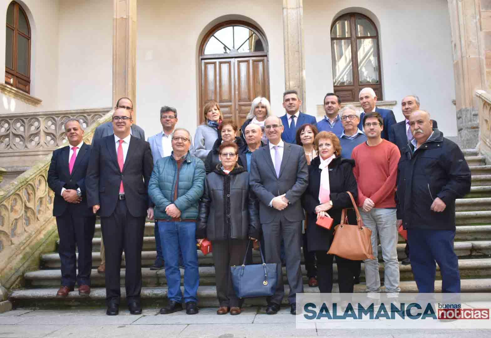 La Diputación rinde homenaje a los que han formado parte de la Institución y se jubilan este año