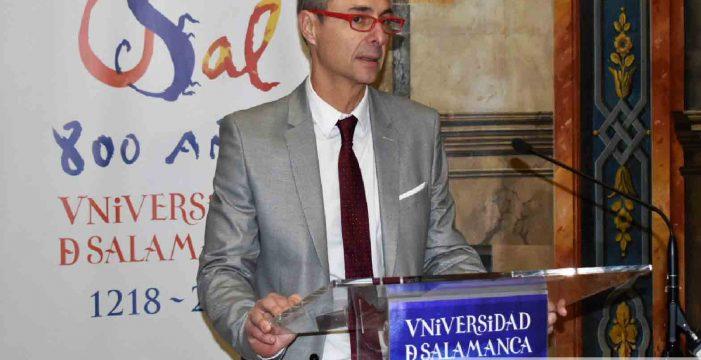 Ricardo Rivero hace balance del año, el del VIII Centenario de la USAL: 'éste ha sido un año de aprendizaje y mucha exposición'
