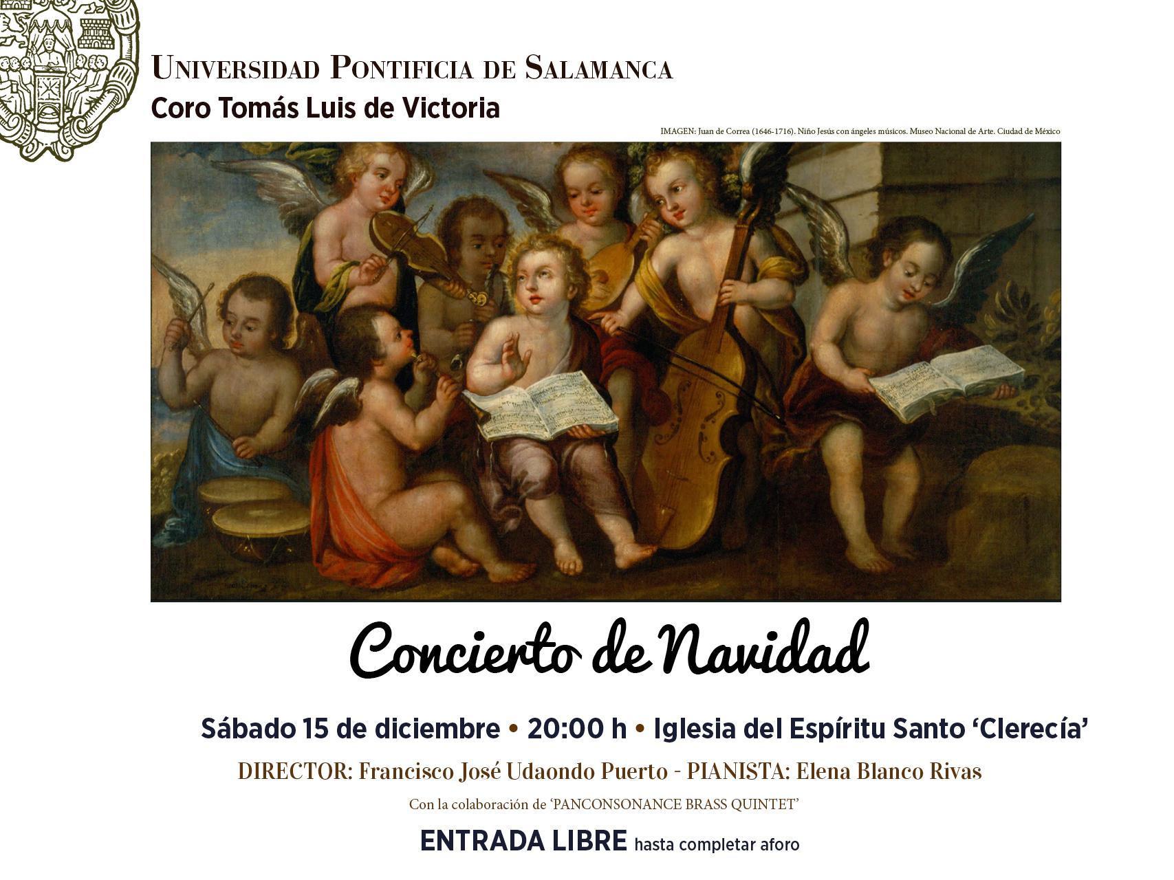El Coro Tomás Luis de Victoria ofrece su tradicional Concierto de Navidad