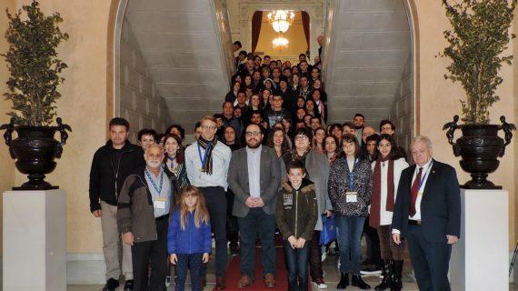 Daniel Llanos anima a los participantes de INICE a ser buenos embajadores de Salamanca