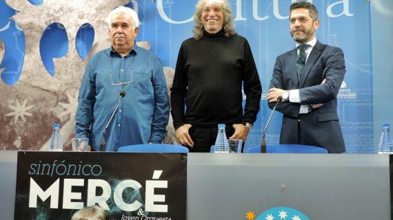 'Sinfónico Mercé' aterriza en Salamanca cargado de ilusiones