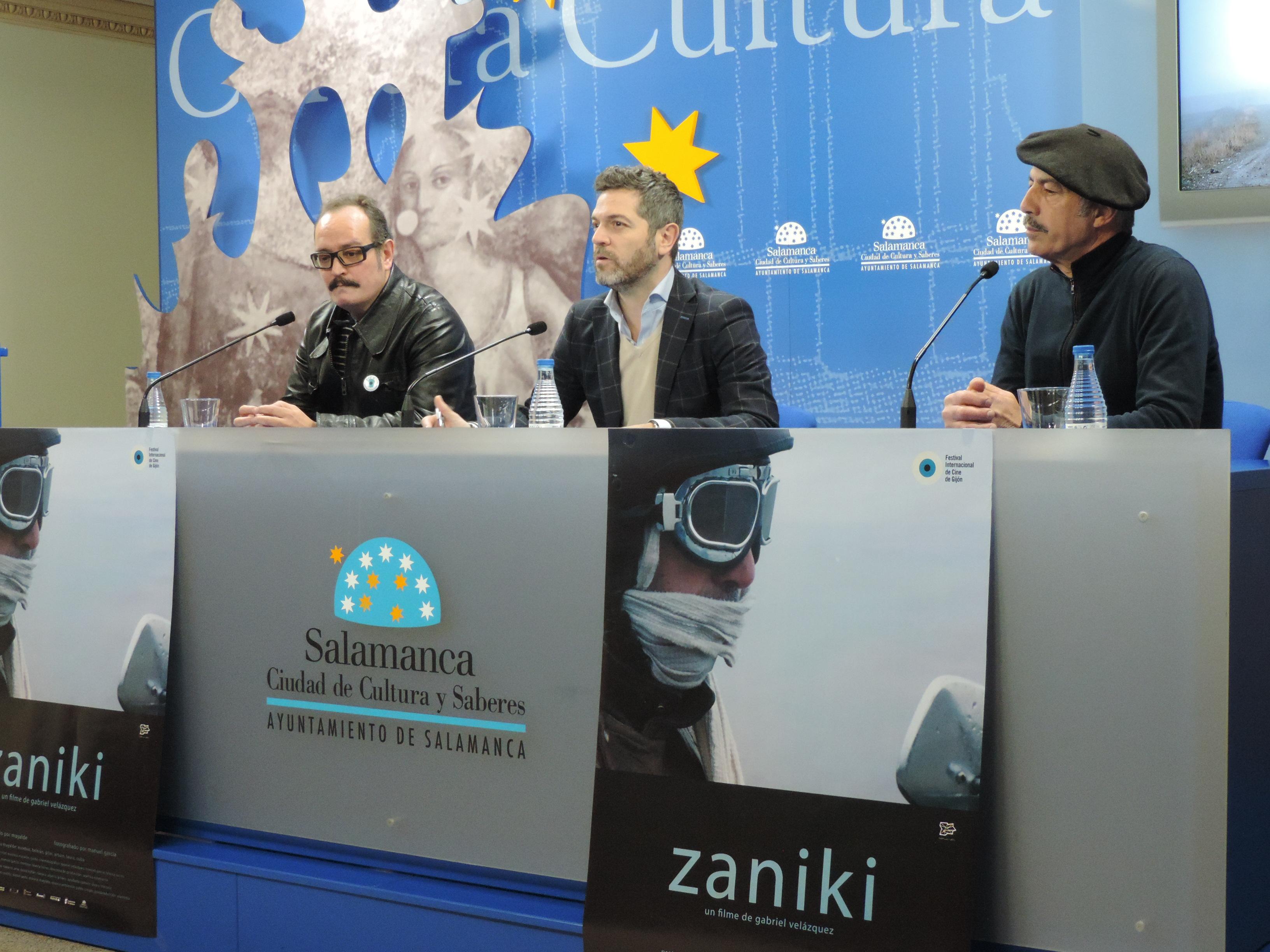 El Teatro Liceo será una gran sala de cine para acoger el largometraje 'Zaniki'