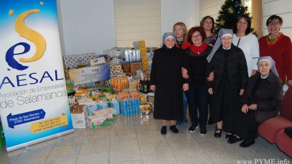 AESAL hace entrega de cerca de 2.500 kg de alimentos a las Hermanitas de los Pobres